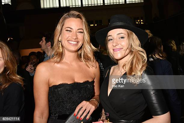 Bein sport TV journalists Anne Laure Bonnet and Aurore Vain attend GQ Men Of The Year Awards at Musee d'Orsay on November 23 2016 in Paris France