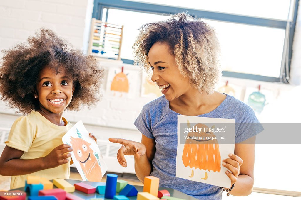 Being a good parent : Stock Photo