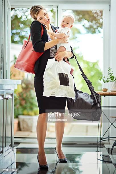 Être une mère est un poste à temps complet