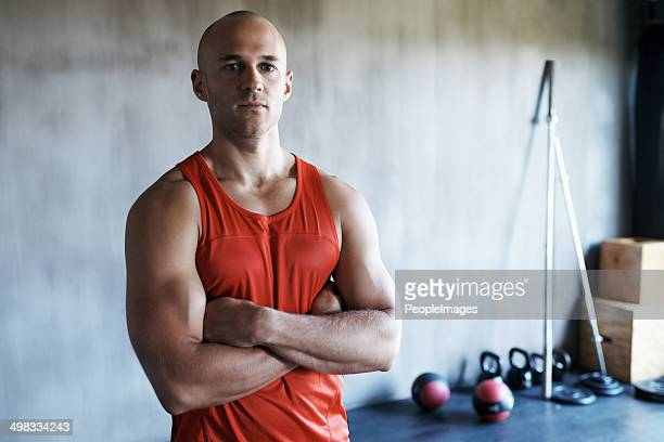 being an example of motivation for fitness - tank top stock photos and pictures