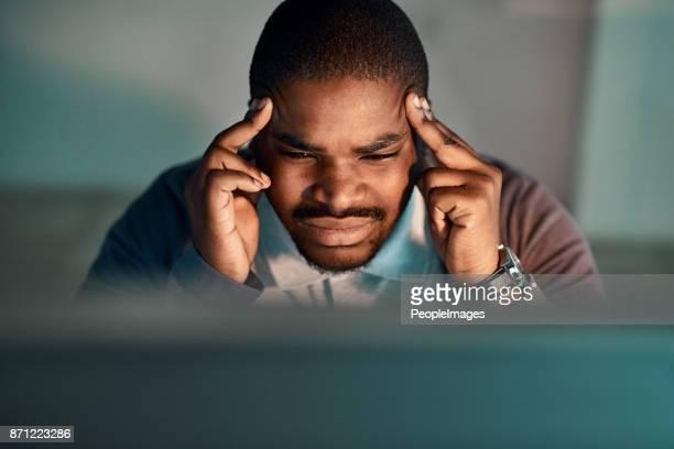 Produktiv ist schwierig, wenn du einen Headace hast