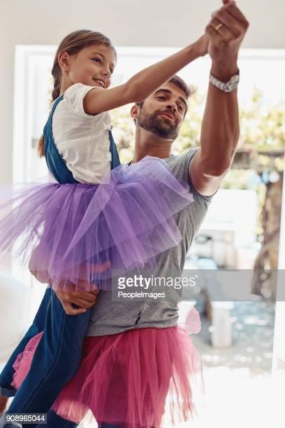 Der beste Vater kann er für sie sein