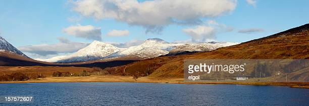 Beinn Damph from Loch Coultrie, Wester Ross, Scottish Highlands