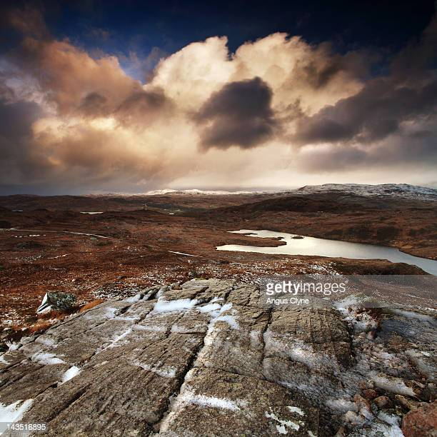 beinn dearg - inverness scotland stock pictures, royalty-free photos & images