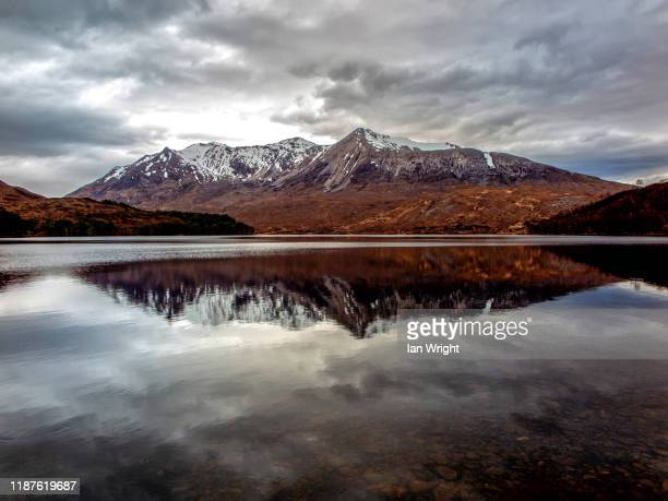beinn eighe - wester ross stock pictures, royalty-free photos & images