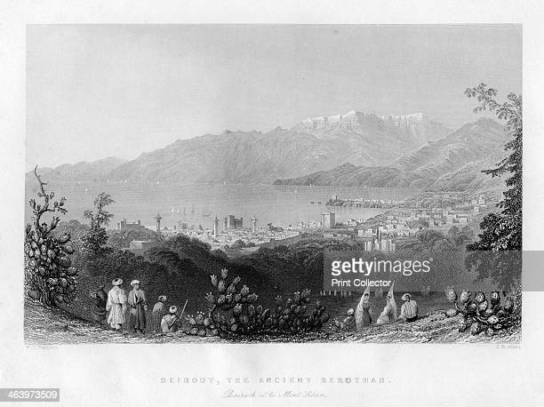 Beirout the ancient Berothah Syria 1841 Bairuth et le Mont Liban Berothah or Berothai was a city in ancient Syria belonging to Hadadezer bar Rehob...