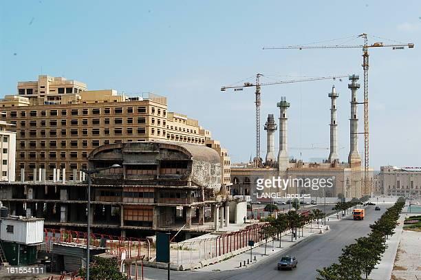 Back To Life La 'movida' de BEYROUTH célèbre la paix à même les cicatrices de la guerre reconstruction de la place des Martyrs située sur l''ancienne...
