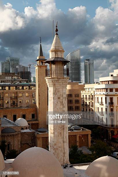 Beirut City skyline, Lebanon, Middle East