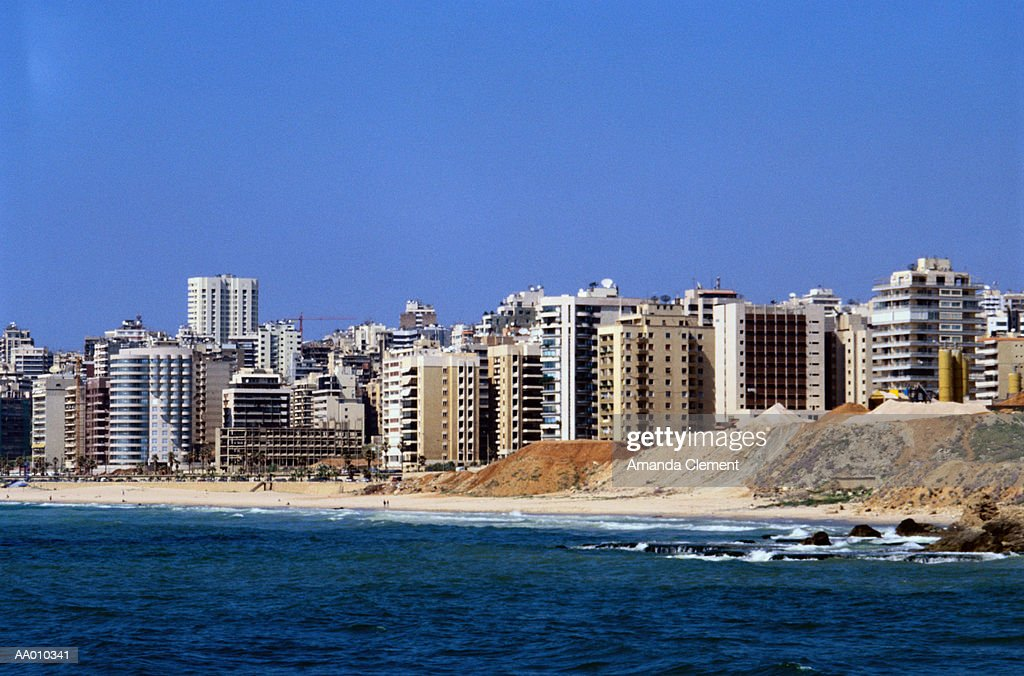 Beirut Skyline : Foto stock