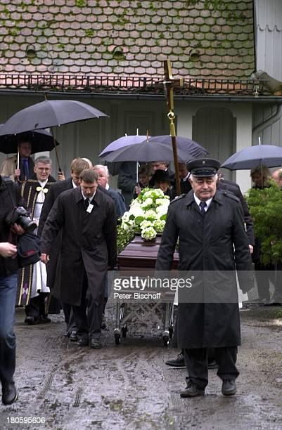 Beisetzung von Heinz Drache Friedhof St Annen BerlinDahlem Beerdigung