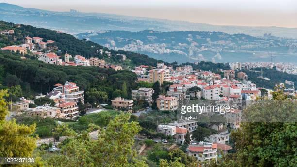 beit meri - lebanon stock pictures, royalty-free photos & images