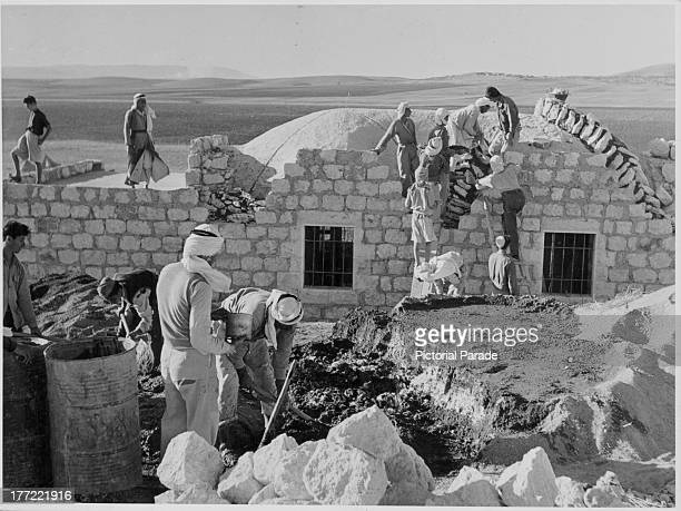 Beit Quad Refugee Camp Jenin Palestine circa 19451975