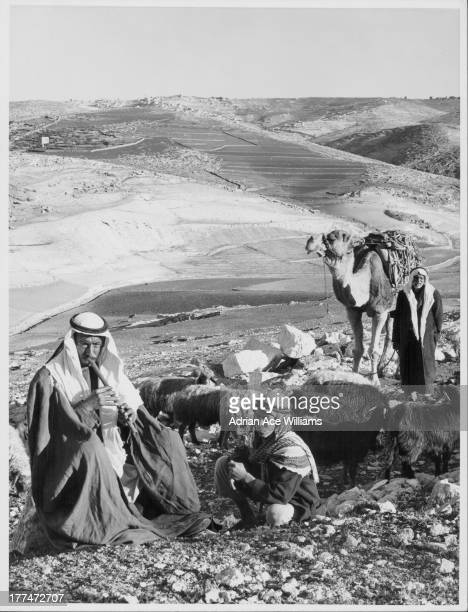 Beit Sahour a Palestinian town and suburb of Bethlehem known as the Shepherd's Field identified as the place where the Angel of the Lord visited the...