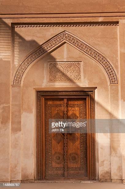 Beit Sheik Isa Bin Ali house, carved door.