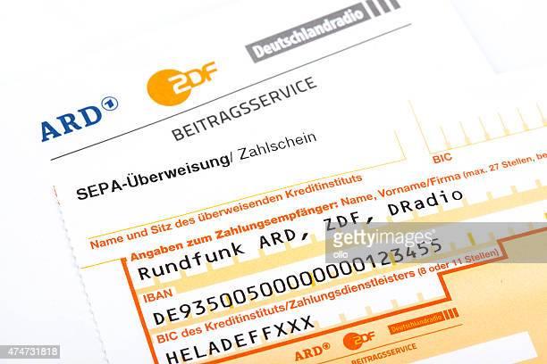 Beitragsservice ARD und ZDF, German radio and television license