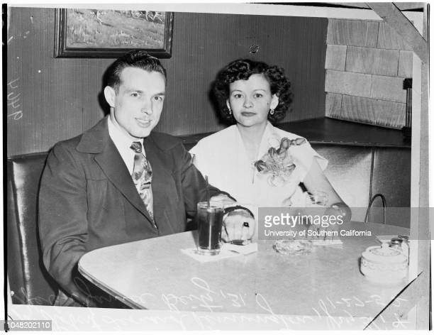 Beitz murder story 27 January 1952 Copy Robert Leonard Pennington Junior 31 yearsHelen Janice Beitz 31 years Caption slip reads 'Photographer...