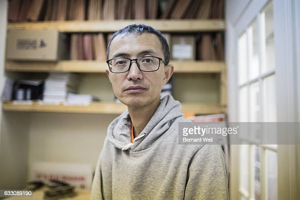 TORONTO ON JANUARY 25 Beixi Liu a former temp agency worker inside his office at Workers Action Centre Toronto Ontario workers lose $45 million each...