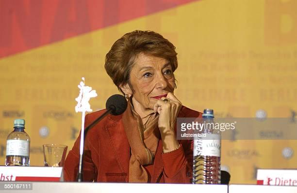 Beki Probst anlässlich der Pressekonferenz zu den bevorstehenden 54. Internationalen Filmfestspielen