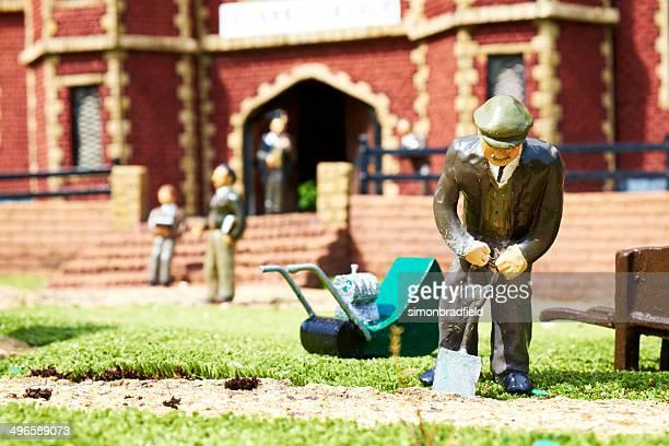 Bekonscot Model Village Gardener