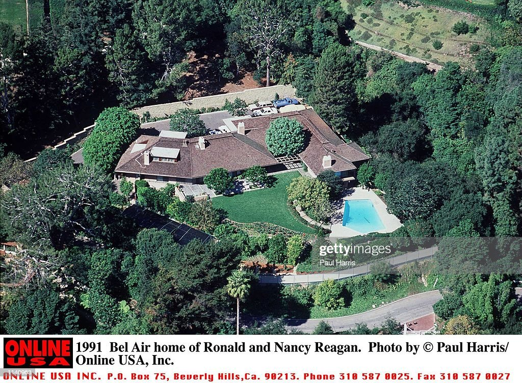 Bel Air Home Of Ronald And Nancy Reagan