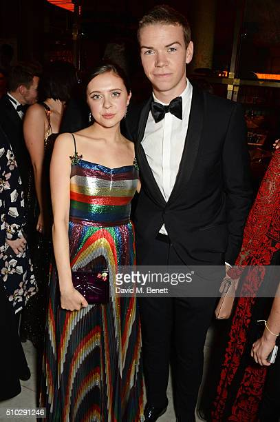 Bel Powley and Will Poulter attend The Weinstein Company Entertainment Film Distributors Studiocanal 2016 BAFTA After Party in partnership with...