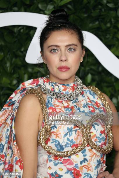 Bel Powley arrives at The Fashion Awards 2019 held at Royal Albert Hall on December 02 2019 in London England