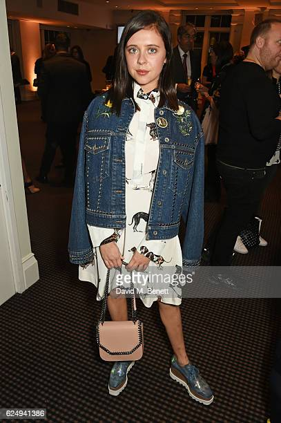 Bel Powley attends a VIP screening of the awardwinning documentary 'Sonita' hosted by FrancoisHenri Pinault Salma HayekPinault and Stella McCartney...