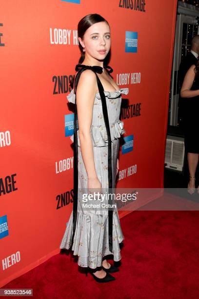 Bel Powley attends Lobby Hero Broadway opening night after party at Bryant Park Grill on March 26 2018 in New York City