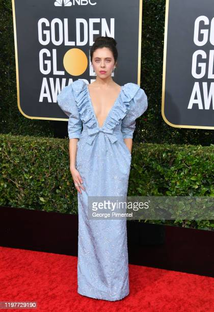 Bel Powley attends the 77th Annual Golden Globe Awards at The Beverly Hilton Hotel on January 05, 2020 in Beverly Hills, California.
