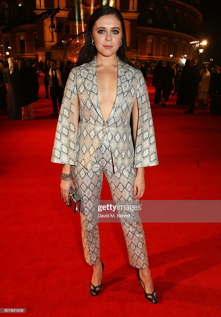 Bel Powley attends The Fashion Awards 2016 at Royal Albert Hall on December 5, 2016 in London, United Kingdom.