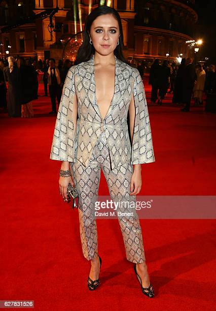 Bel Powley attends The Fashion Awards 2016 at Royal Albert Hall on December 5 2016 in London United Kingdom