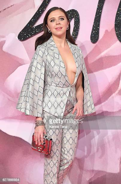 Bel Powley attends The Fashion Awards 2016 at the Royal Albert Hall on December 5 2016 in London United Kingdom