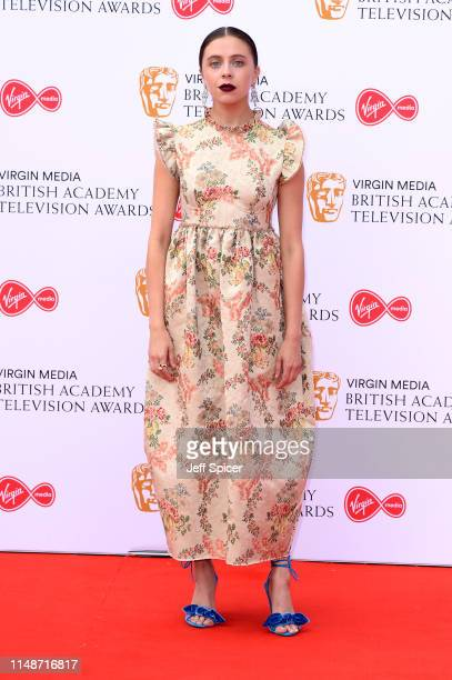 Bel Powley attends the Virgin Media British Academy Television Awards 2019 at The Royal Festival Hall on May 12 2019 in London England