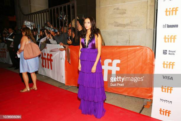 Bel Powley attends the 'White Boy Rick' premiere during 2018 Toronto International Film Festival at Ryerson Theatre on September 7 2018 in Toronto...