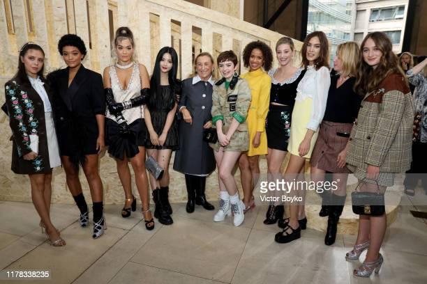 Bel Powley, Kiersey Clemons, Rita Ora, Yang Chaoyue, Miuccia Prada, Lachlan Watson, Gugu Mbatha-Raw, Lili Reinhart, Alexa Chung, Ludivine Sagnier and...