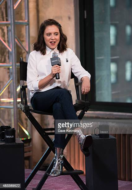 Bel Powley speaks at AOL BUILD Speaker Series Presents The Diary Of A Teenage Girl at AOL Studios In New York on August 7 2015 in New York City