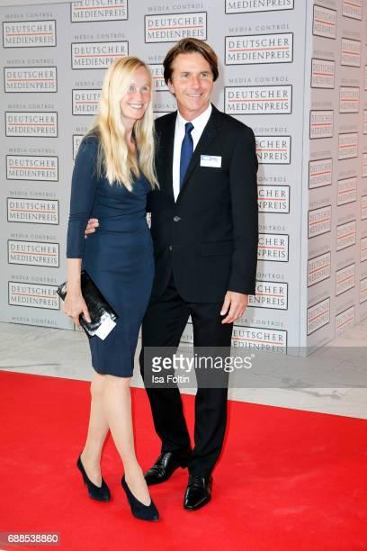 Bela Anda and Ina Tenz during the German Media Award 2016 at Kongresshaus on May 25 2017 in BadenBaden Germany The German Media Award has been...