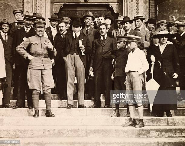 Bela Kun with a group of collaborators in Budapest 1919 Hungarian Soviet Republic Hungary 20th century