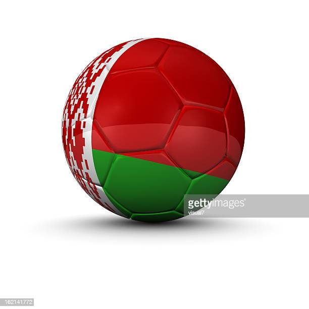 belarus soccer ball - belarus stock pictures, royalty-free photos & images