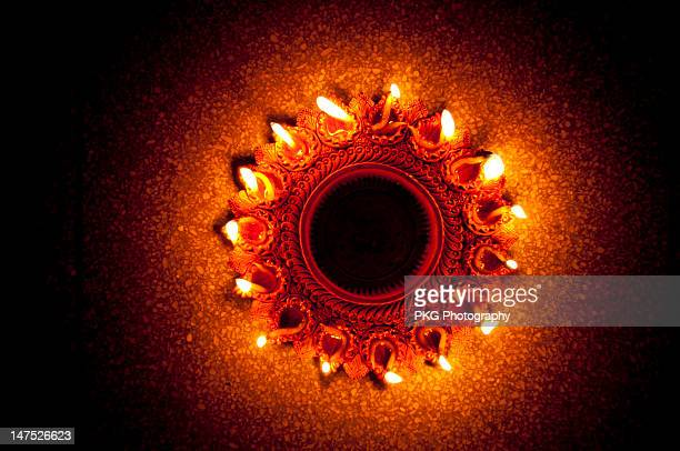 belated happy deepawali - diwali celebration stock photos and pictures