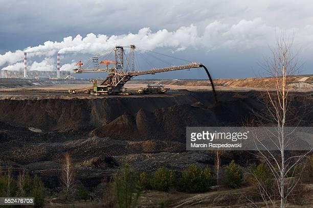 Belchatow open-pit brown coal mine