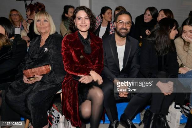 Belcim Bilgin attends the Ezra Tuba show during MercedesBenz Fashion Week Istanbul March 2019 at Zorlu Center on March 21 2019 in Istanbul Turkey
