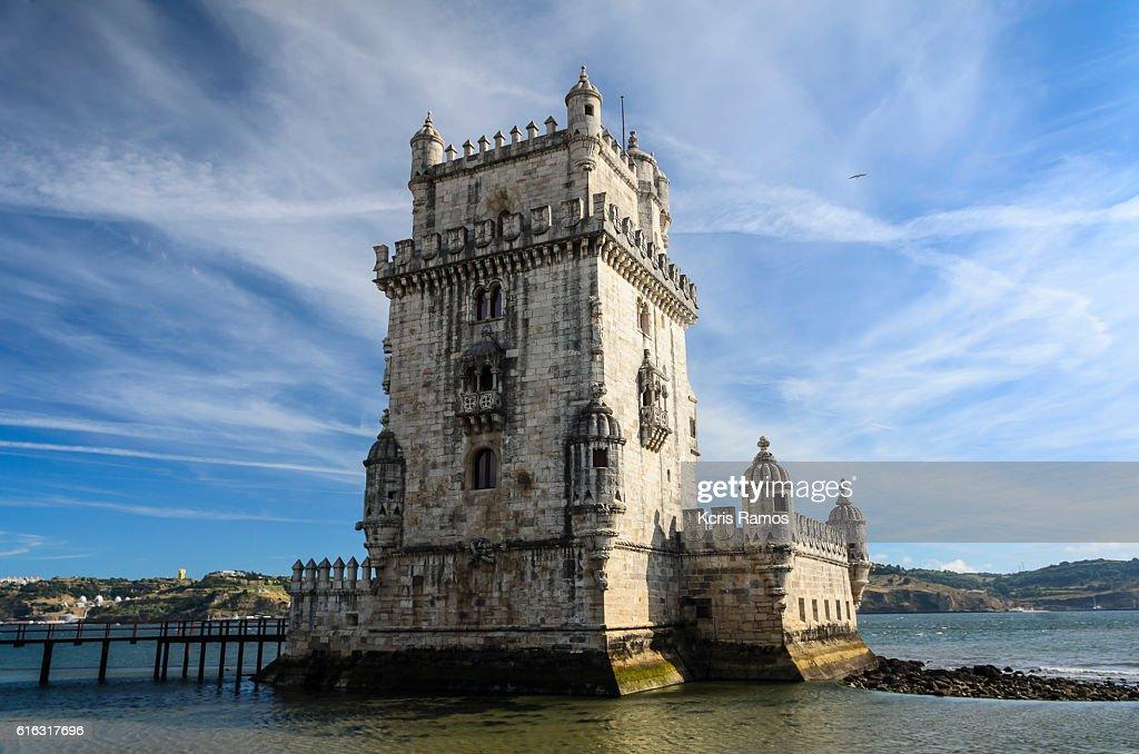 Belem Castle Tower : Stock Photo