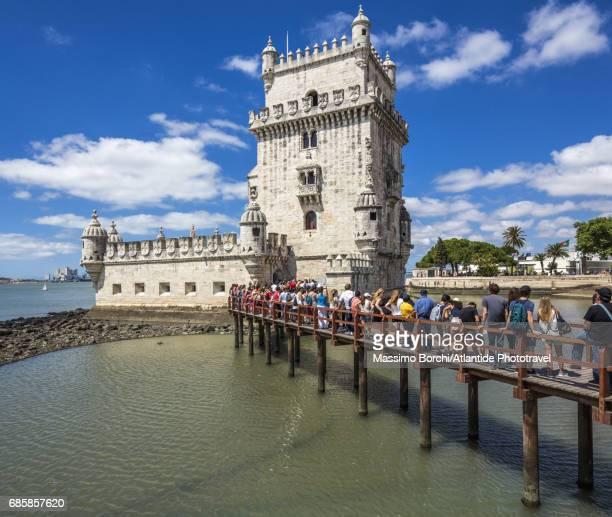 Belem district, the Torre de Belém