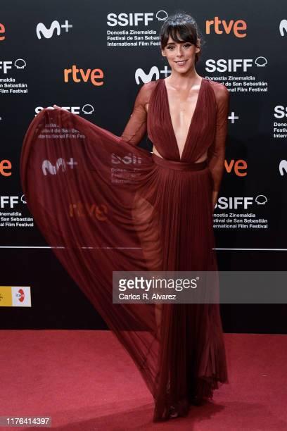 Belen Cuesta attends 'La Trinchera Infinita ' premiere during 67th San Sebastian Film Festival at Kursaal San Sebastian on September 22 2019 in San...