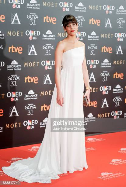 Belen Cuesta attends the 31st edition of the 'Goya Cinema Awards' ceremony at Madrid Marriott Auditorium on February 4 2017 in Madrid Spain