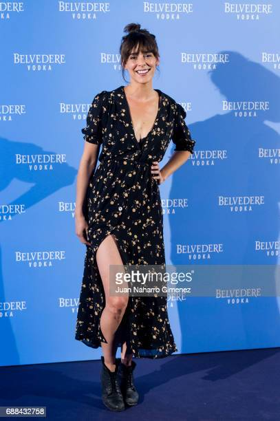 Belen Cuesta attends the Belvedere Vodka party at the Pavon Kamikaze Teather on May 25 2017 in Madrid Spain