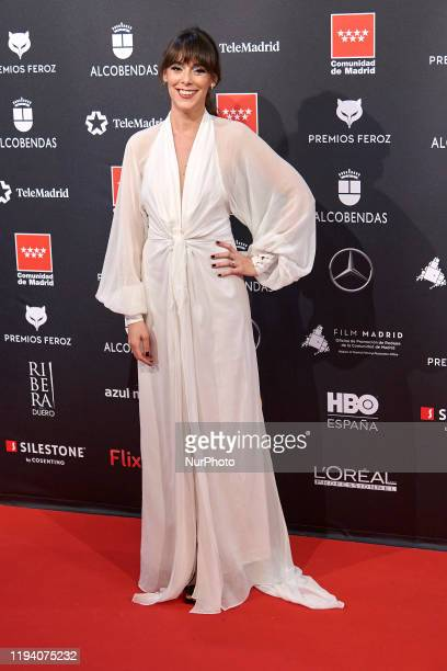 Belen Cuesta attends the 'FEROZ' awards 2020 Red Carpet photocall at Teatro Auditorio Ciudad de Alcobendas in Madrid Spain on Jan 16 2020