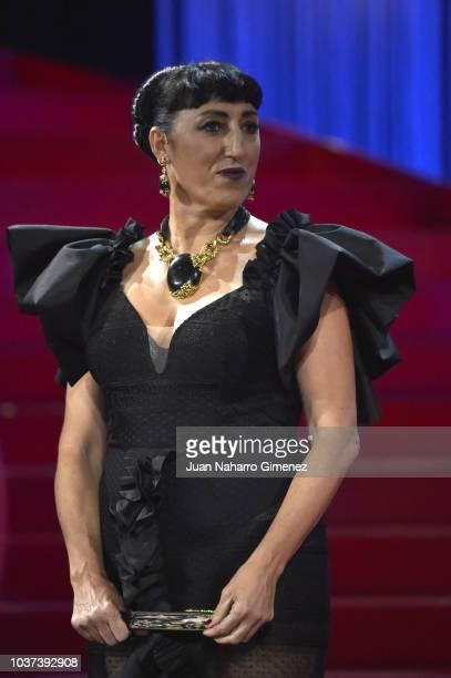 Belen Cuesta attends the opening gala during 66th San Sebastian Film Festival at Kursaal San Sebastian on September 21 2018 in San Sebastian Spain