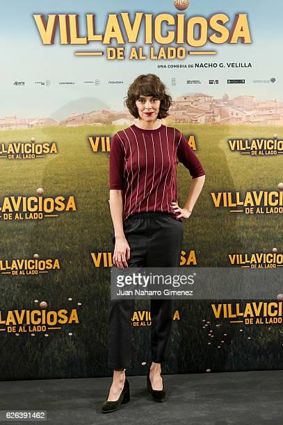 Belen Cuesta attends 'Villaviciosa de al Lado' photocall at Palacio de los Duques Hotel on November 29 2016 in Madrid Spain